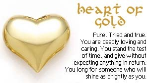 i have a cuore of oro
