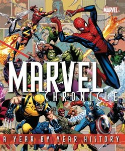 """THE COVER TO THE """"MARVEL CHRONICLE"""""""