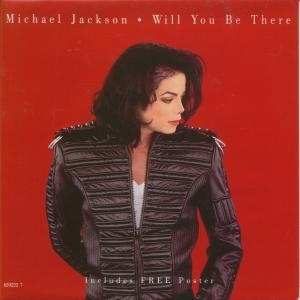 "Cover of the ""Will Ты Be There"" CD single."