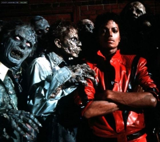 Thriller's famous 夹克