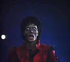Oh my god....i never thought the THRILLER video could come true.Strange...why i am a zombie instead of a spirit?Hey OLA रे what's up?Still afraid of me?