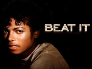 beat it michael jackson текст