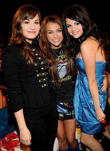 miley and selena and demi
