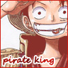 The man who will become the Pirate King
