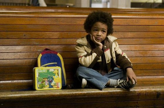 Jaden Smith, son of Will, makes his debut in this film.