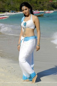 Tamanna at the seashore