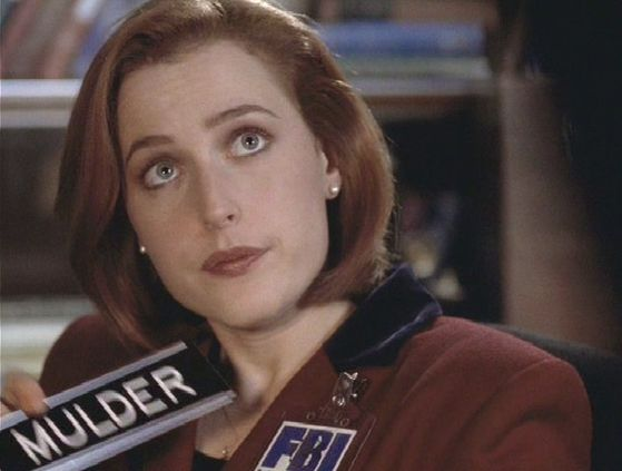 Season Four Never Again # ~ Scully : Why Dont I Have A Desk