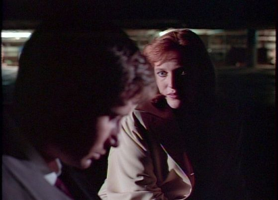 Season Two Little Green Men # ~ Scully & Mulder Meet Up In Secret Because Scully Is Worried About Mulder