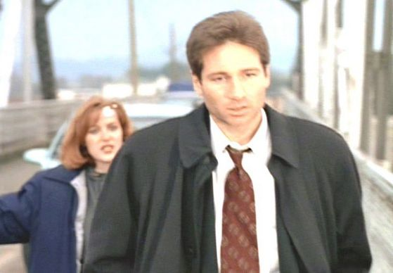 Season Two End Game # ~ Scully : Why Didnt anda Tell Me On The Phone - Mulder : Because anda Never Would Of Let Me Go Through With it
