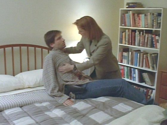 Season Two Anasazi # ~ Scully Looks After Mulder When Hes ill