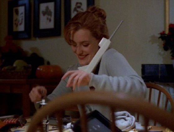Season Three WOTC # ~ ( On The Phone ) Mulder : Scully What Are anda Wearing ?