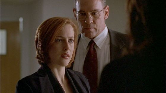 Season Six Biogenesis # ~ Docter : Hes A Danger To Everyone - Scully : Not To Me ( Talking About Mulder)