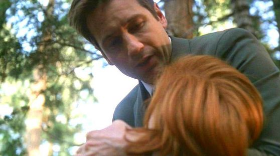 Season Seven Requiem # ~ Mulder Holds Scully In The Woods