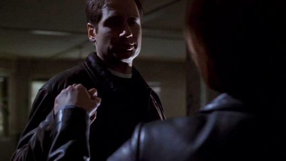 Season Seven Closure # ~ (Mulder & Scully Holding Hands) Mulder : Maybe After We Can Play Spin The Bottle