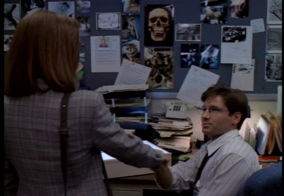 Season One Pilot # ~ Mulder & Scully Meet