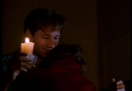 Season One Pilot # ~ Mulder & Scully First Hug!!!!!!
