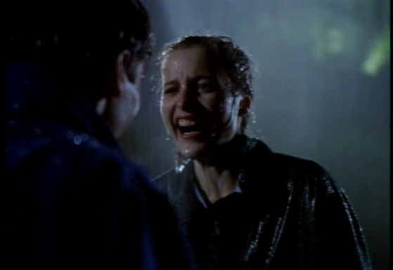 Season One Pilot # ~ Mulder & Scully Laughing In The Rain