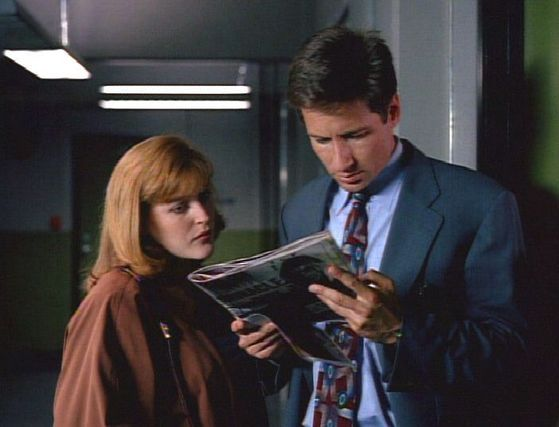Season Two The Host # ~ Scully : I Hope You Know I Consider It More Than A Proffessional Loss If You Decied To Leave.