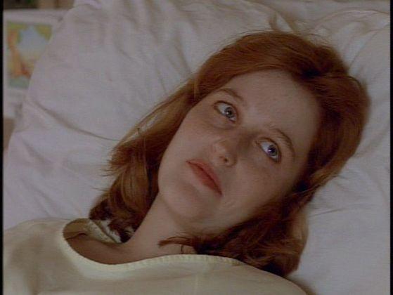 Season Two One Breath # ~ Scully : Not Fox , Mulder