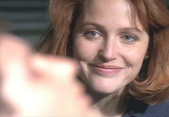 Season Two End Game # ~ Scully Smiles When Mulder Wakes Up