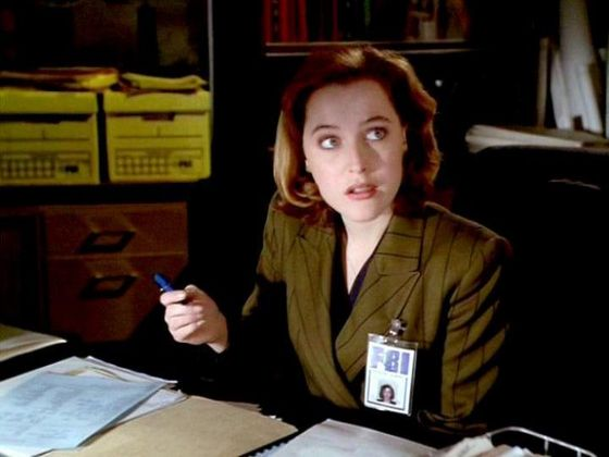 Season One E.B.E. # ~ Mulder : I Think Its Remotley Possible Someone Thinks Your Hot