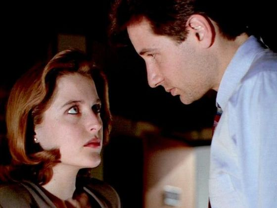 Season One E.B.E. # ~ Scully : Mulder Your The Only One I Trust - Mulder : Then Your Going To Half To Trust Me