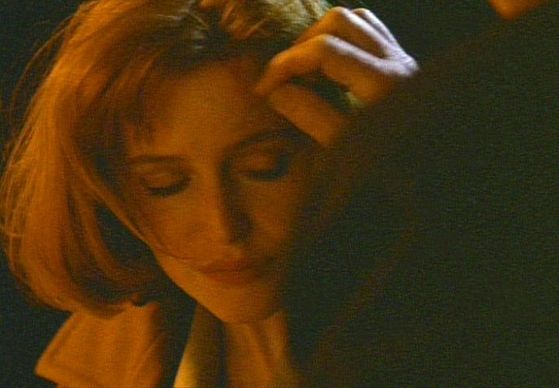 Season Two Our Town # ~ Mulder Strokes Scullys Face