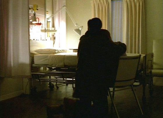 Season Three Paper Clip # ~ Mulder Hugs Scully After Her Sister Dies