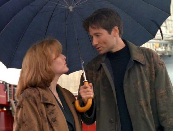 Season Three WOTC # ~ Mulder : I Never Thought I Would Say This To anda Scully , But anda Smell Bad