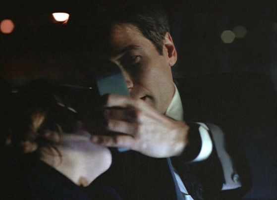 Season Three Pusher # ~ Mulder Touches Scully Face To Wake Her Up
