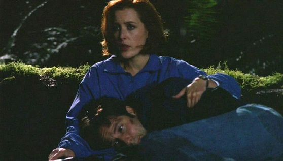 Season Five Detour # ~ Scully Sings To Mulder (Joy To The World)