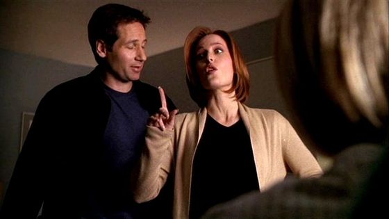 Season Eight Alone # ~ Mulder : I Cant Believe Your Saying It Wasnt A Spaceship - Scully : It Could Of Been A SpaceShip Mulder ( MSR Banter)