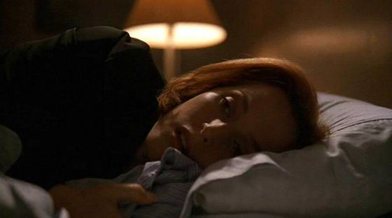 Season Eight Within # ~ Scully Falls Asleep On Mulders Bed With His Shirt