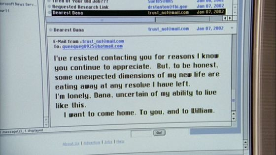 Season Nine Trust No1 # ~ Im Lonely Dana , Uncertain Of My Abilty To Live Like This , I Want To Come 首页 , To 你 , And To William