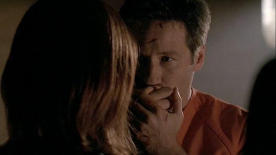 Season Nine The Truth # ~ Mulder Kisses Scullys Hand