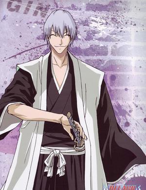 Ichimaru Gin......Ubberly Evil Right Hand Man to Sosuke Aizen
