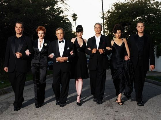 Tony, Jenny, Ducky, Abby, Gibbs, Ziva, McGee