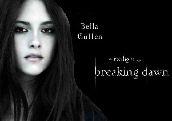 sorry it says Bracking Dawn and bella cullen