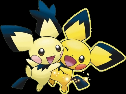 The Notch Eared, and Pikachu Style Pichu's