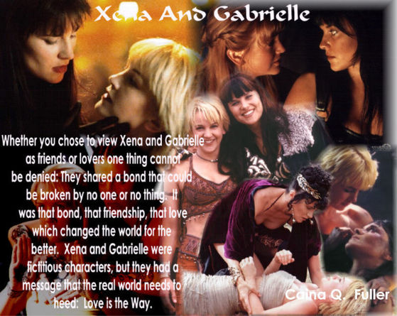 Xena Quotes About Love : ... wrong with that if you love the person and it was a love for the ages