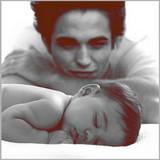 Edward watching nessie sleep
