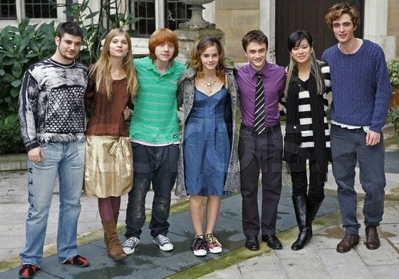 Rob with his Harry Potter friends