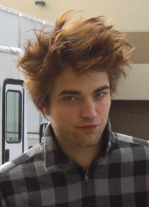 Rob doesn't care that much about his hair