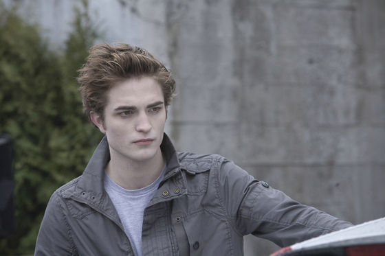 Robert Pattinson as Edward Cullen in Twilight