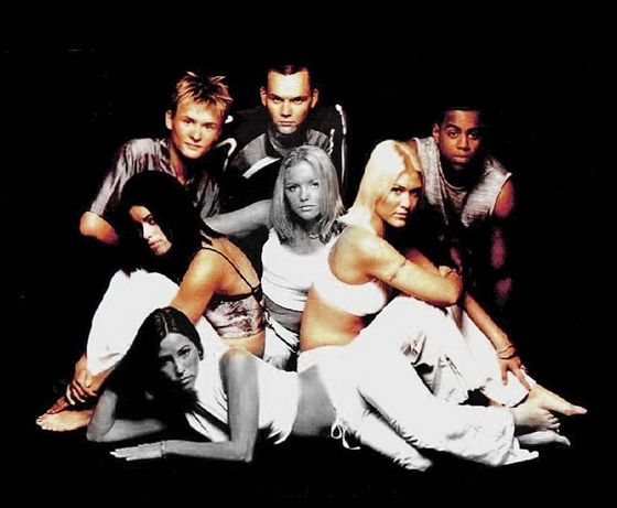 S Club 7 back in 2009 without Stevens and Spearritt
