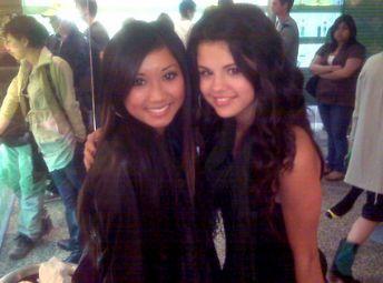 Selena Gomez & Brenda Song