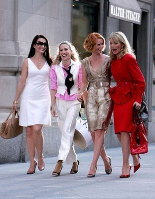 From Left To Right: Charlotte, Carrie, Miranda and Samantha