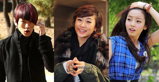 Key , Nicole and Goo Hara