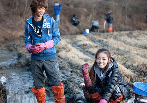 Min Ho and Goo Hara together