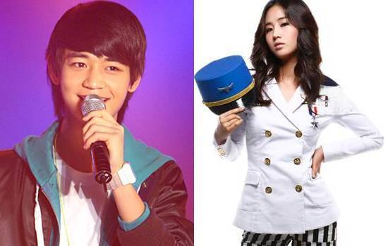 Choi Min Ho of shinee and Yuri of SNSD